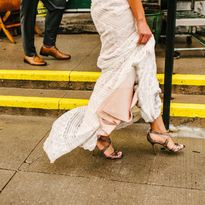 Fancy Feet :. Archeo Distillery District Wedding