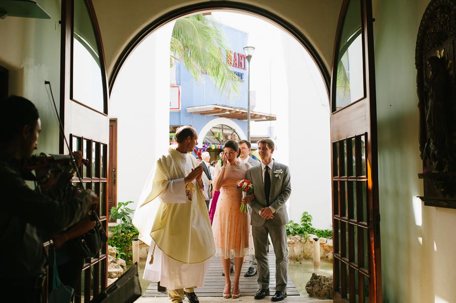 Nuestra Senora del Carmen Wedding