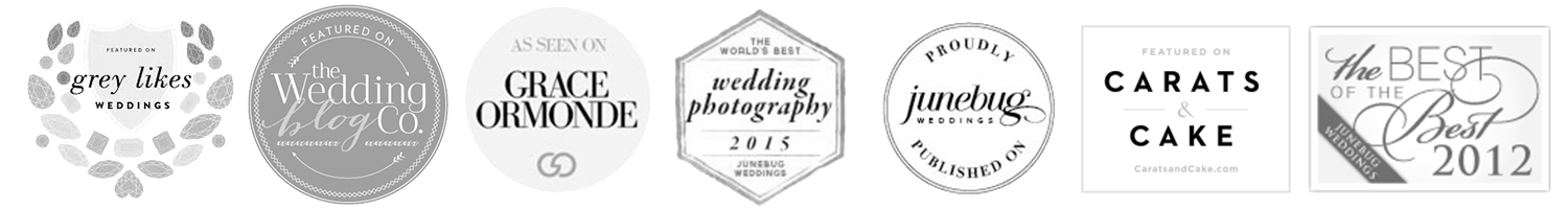 TORONTO WEDDING PHOTOGRAPHER Shauna Heron is an award winning Toronto wedding photographer that's lucky enough to call Miami, Florida home too. How does she live in two places at once?! Well, there's an Instagram love story involved. Her and her Miami guy met almost 5 years ago and have been attached ever since. Shauna Heron has over 9 years of experience in the wedding industry and was named one of Toronto's Top 20 Wedding Photographers. Shauna is available for wedding destinations worldwide, passport at the ready.